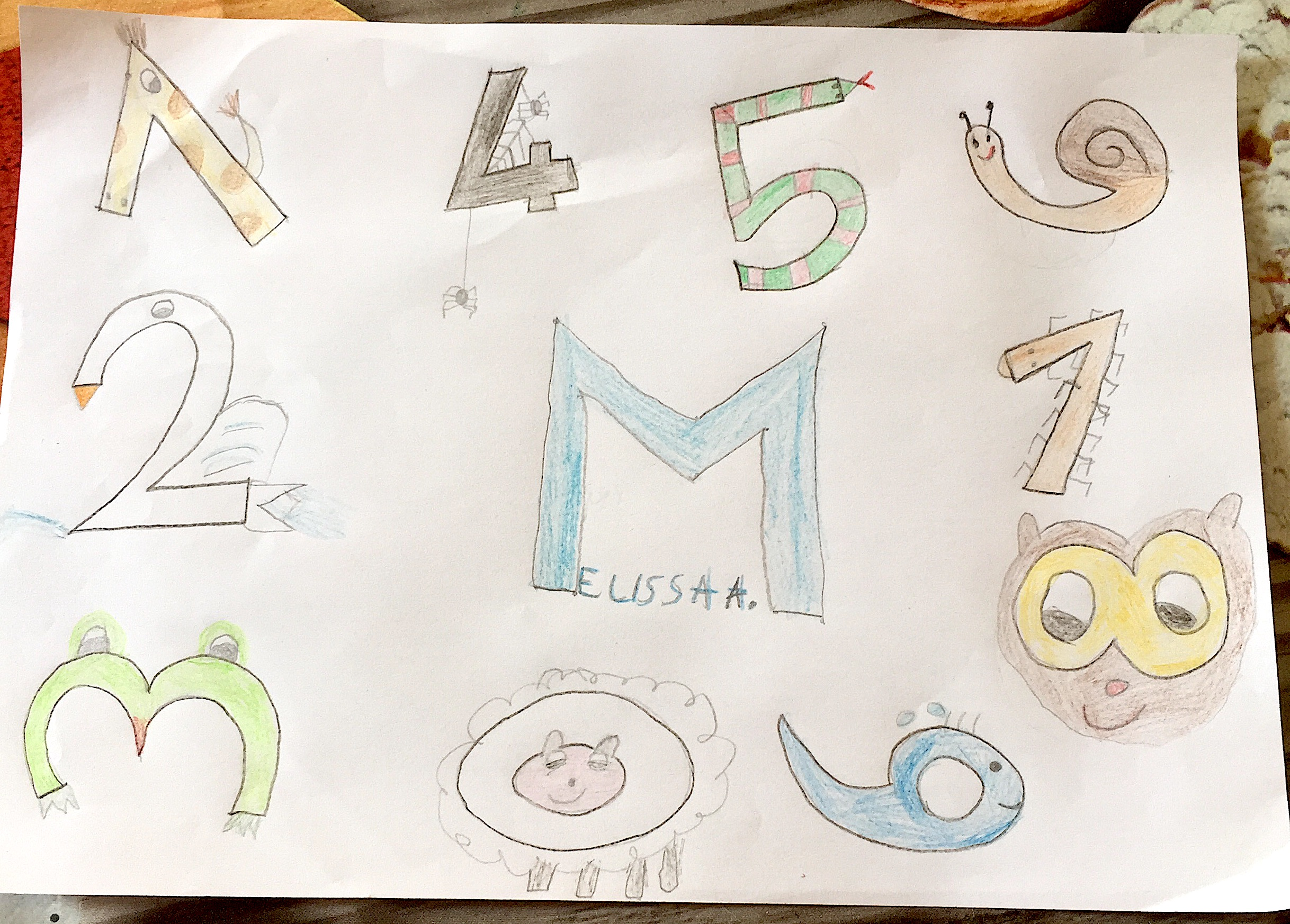 Melissa tra i numeri (Melissa A.)
