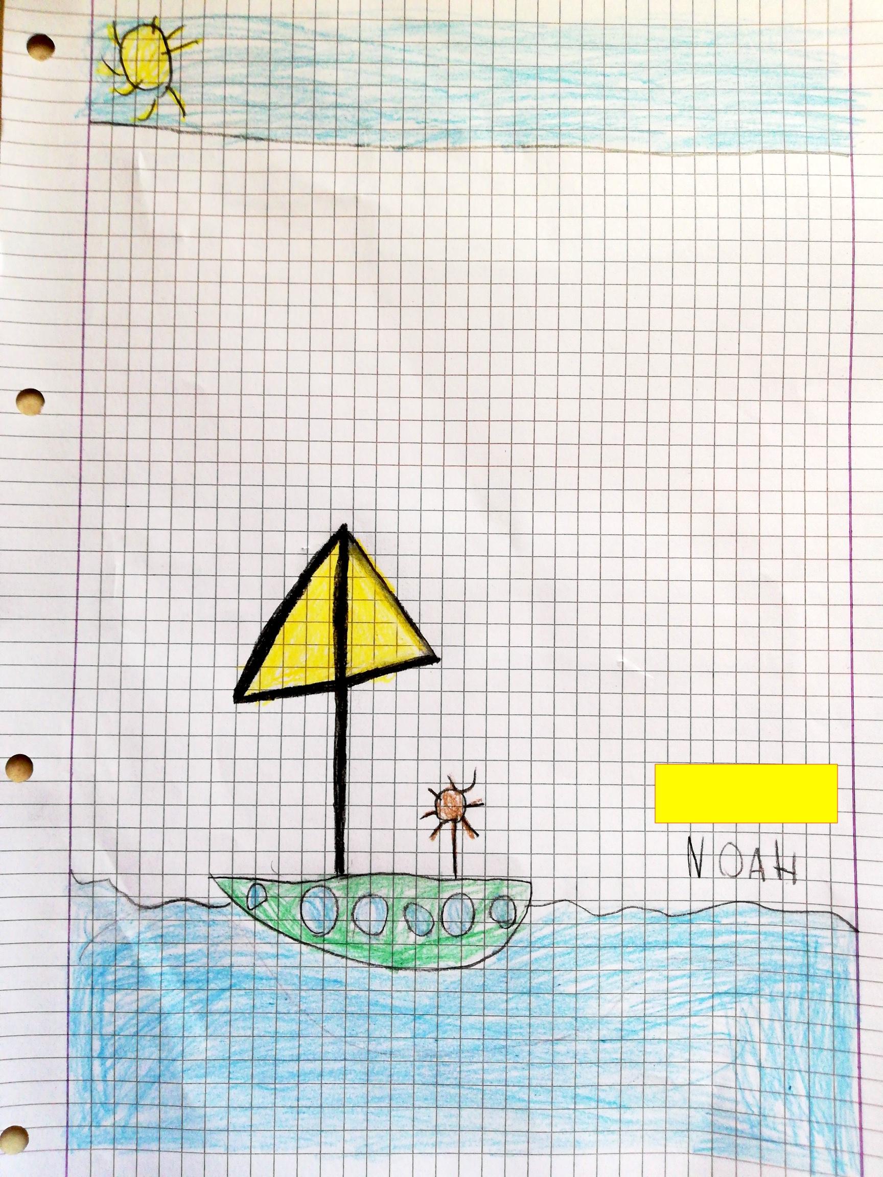 Un 4 in barca (Noah)