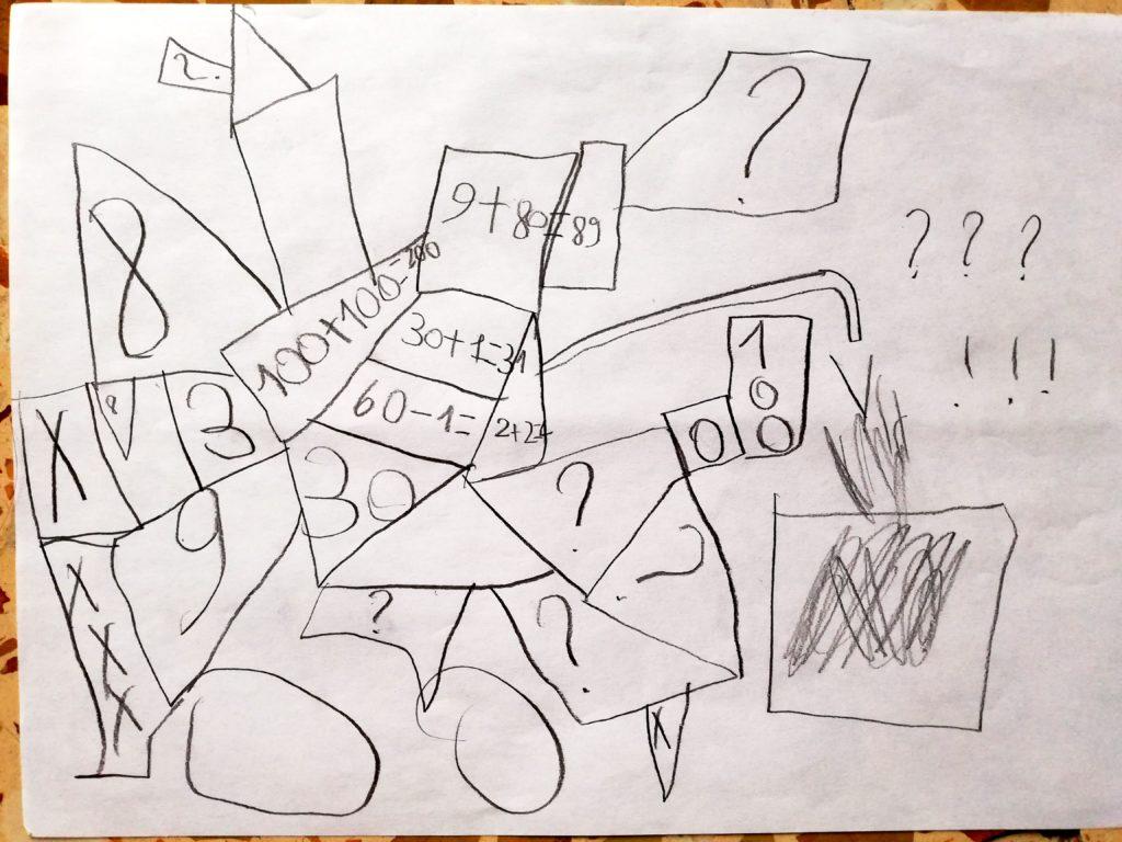 Un puzzle di numeri e forme (Arjun)