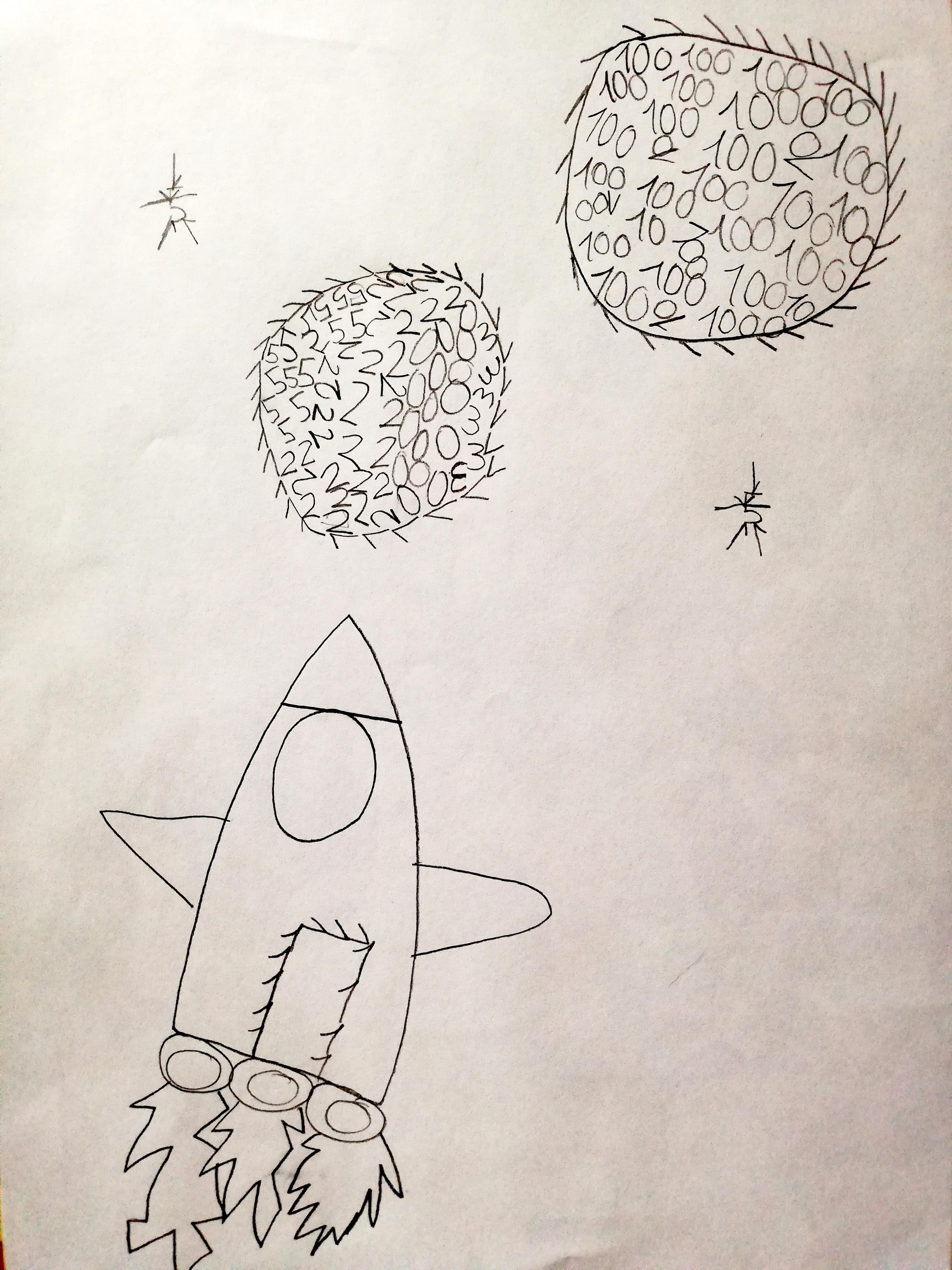 Verso lo spazio (Ingrid)